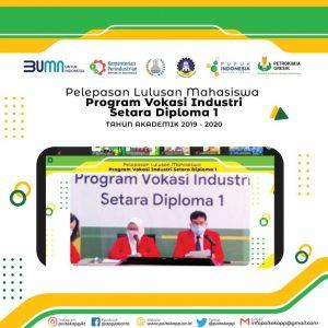 Kegiatan Pelepasan Lulusan Mahasiswa Program Vokasi Industri Setara Diploma 1